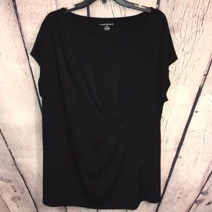 Lane Bryant women's black top sz 3X